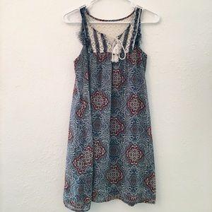 Boho chic Xhilaration dress 🌵